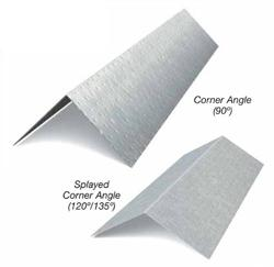 2 in x 2 in x 12 ft x 18 Gauge Corner Angle