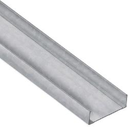 12 in x 17 ft x 14 Gauge 68 mil G90 Unpunched Structural Steel Stud w/ 1 5/8 in Flange