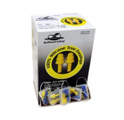Bullhead Safety HP-S2 Reusable Corded Earplugs