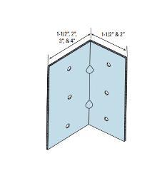1 1/2 in x 1 1/2 in x 5 1/4 in x 16 Gauge Marino\WARE Utility Clip