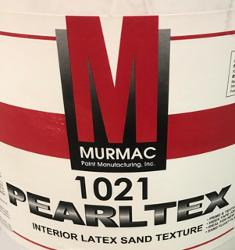 Murmac 1021 Pearltex Interior Latex Sand Texture - 1 Gallon
