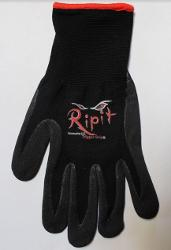 Ripit Trigger Grip Multi-Purpose Black Work Glove - 8/Medium