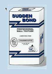 Solid Products Sudden Bond Professional Wall Texture - 50 lb Bags