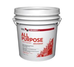 USG Beadex Brand All Purpose Lite Joint Compound - 3.5 Gallon Box
