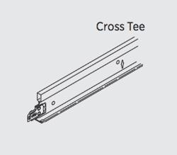 4 ft x 1 1/2 in USG Donn Brand Drywall Suspension System Cross Tee - DGLW424