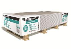 1/2 in x 4 ft x 12 ft USG Fiberock Brand Aqua-Tough AR Interior Panel