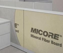 1/2 in x 4 ft x 8 ft USG Micore 300 Mineral Fiber Board