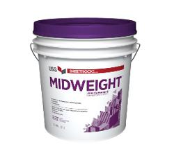USG Sheetrock Brand Midweight Joint Compound - 4.5 Gallon Box
