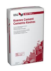 USG Red Top Brand Keenes Cement - 50 lb Bag