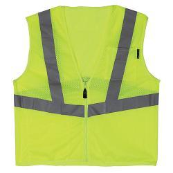 LIFT Safety Viz Pro 1 Yellow Safety Vest - Large