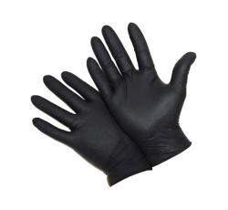 5 mil West Chester Industrial Grade Powder Free Black Nitrile Glove - XL