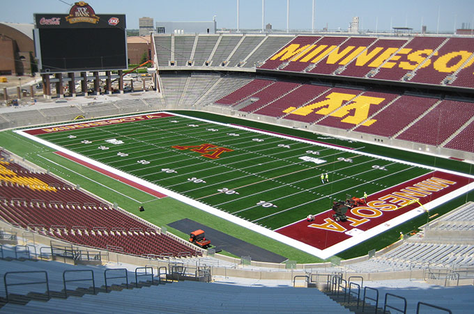 TCF Bank Gophers Football Stadium