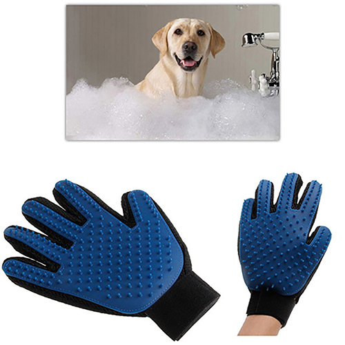 Pet Deshedding Cleaning Glove 4fe2c0b94e45