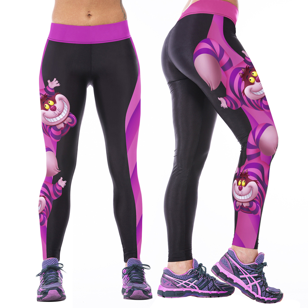 Cheshire Cat Yoga Pants
