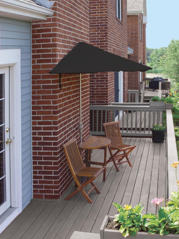 Black Patio Set Covers: 5-Piece Terrace Mates Premium Outdoor Furniture Patio Set