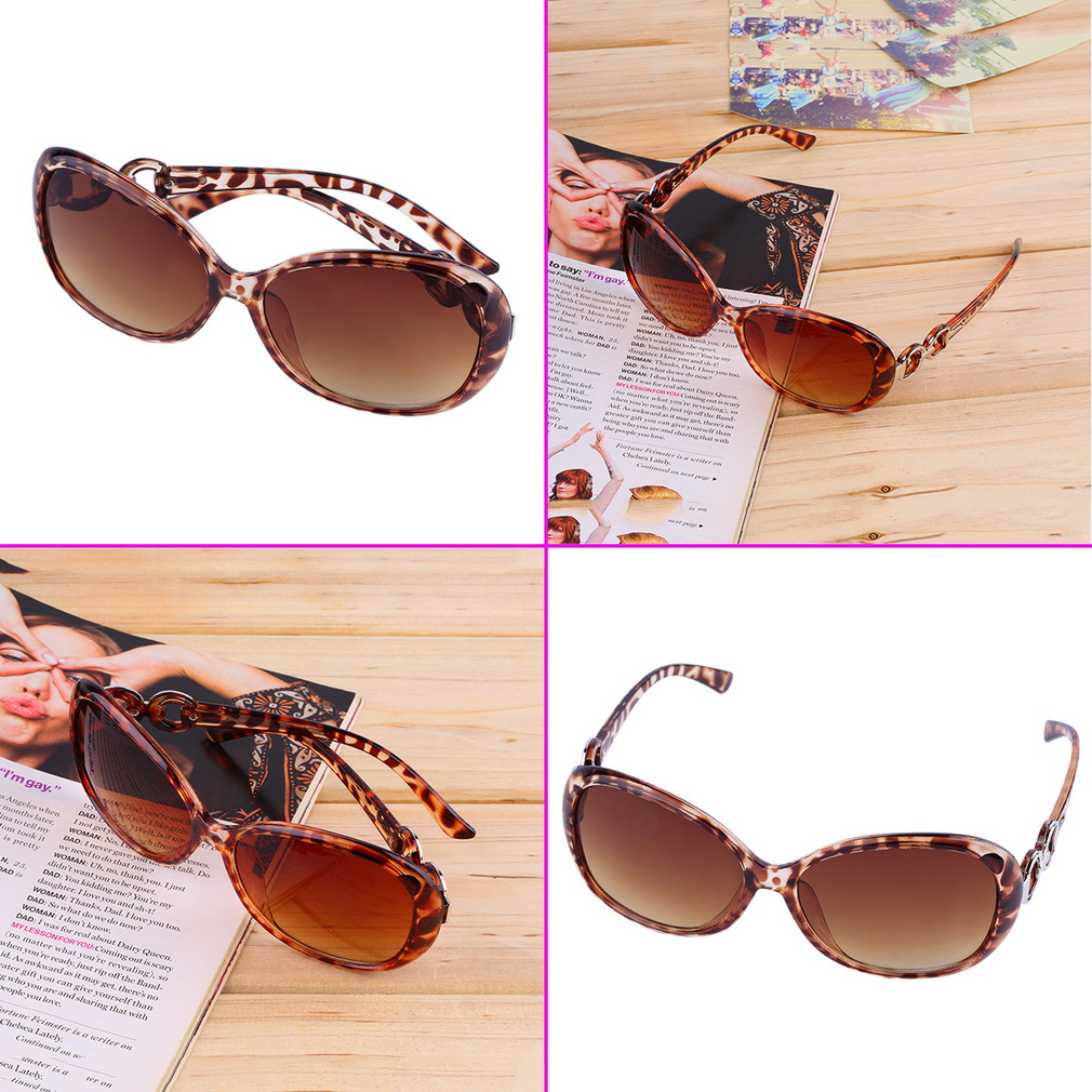 Women Fashion Retro Vintage Oversized Eyewear Sunglasses Outdoor Glass 4683566
