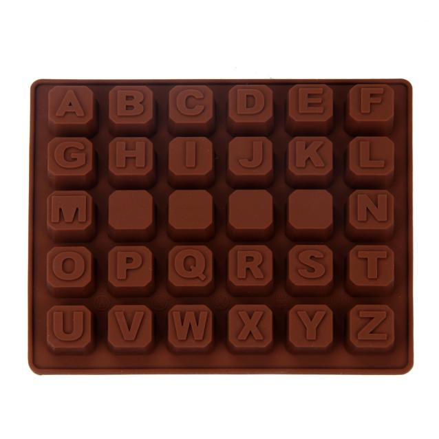 Silicone Letter Alphabet Cake Fondant Mould Chocolate Cookies Candy Mo 05999288e0f8