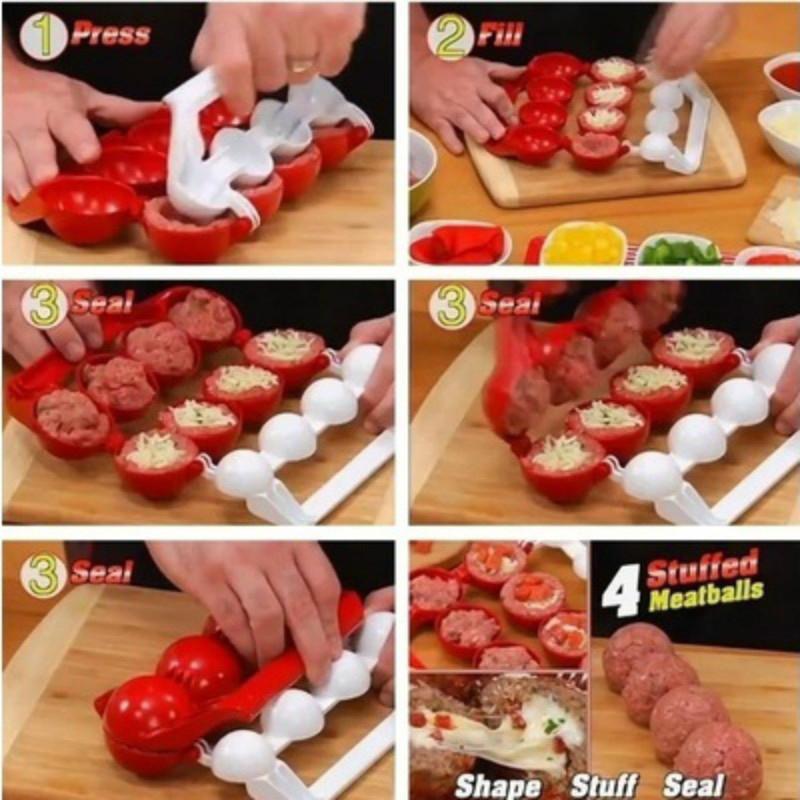 Meatballs Kitchen Homemade Stuffed Meatballs Maker Stuffed Ball Maker