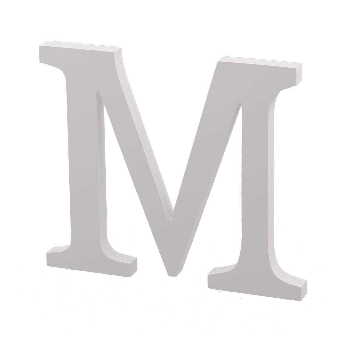 Wedding party plywood decoration english m letter alphabet for Decoration 9 letters