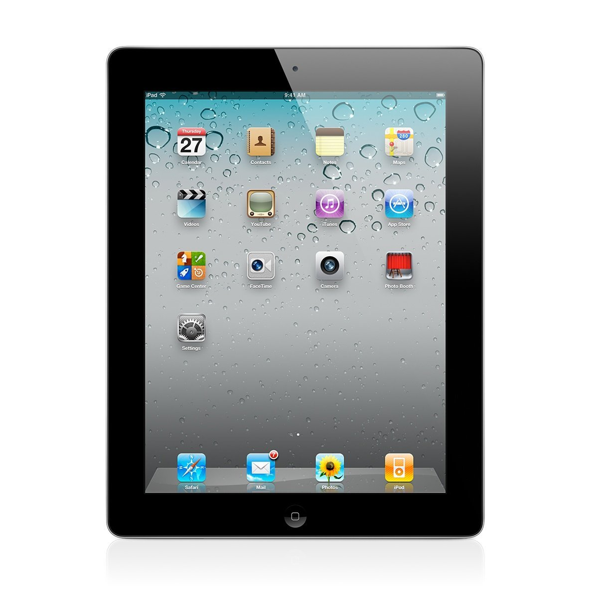 Apple iPad 2 MC773LL A, 16GB WiFi   3G AT amp T Black (Grade C) abe9fc04100a