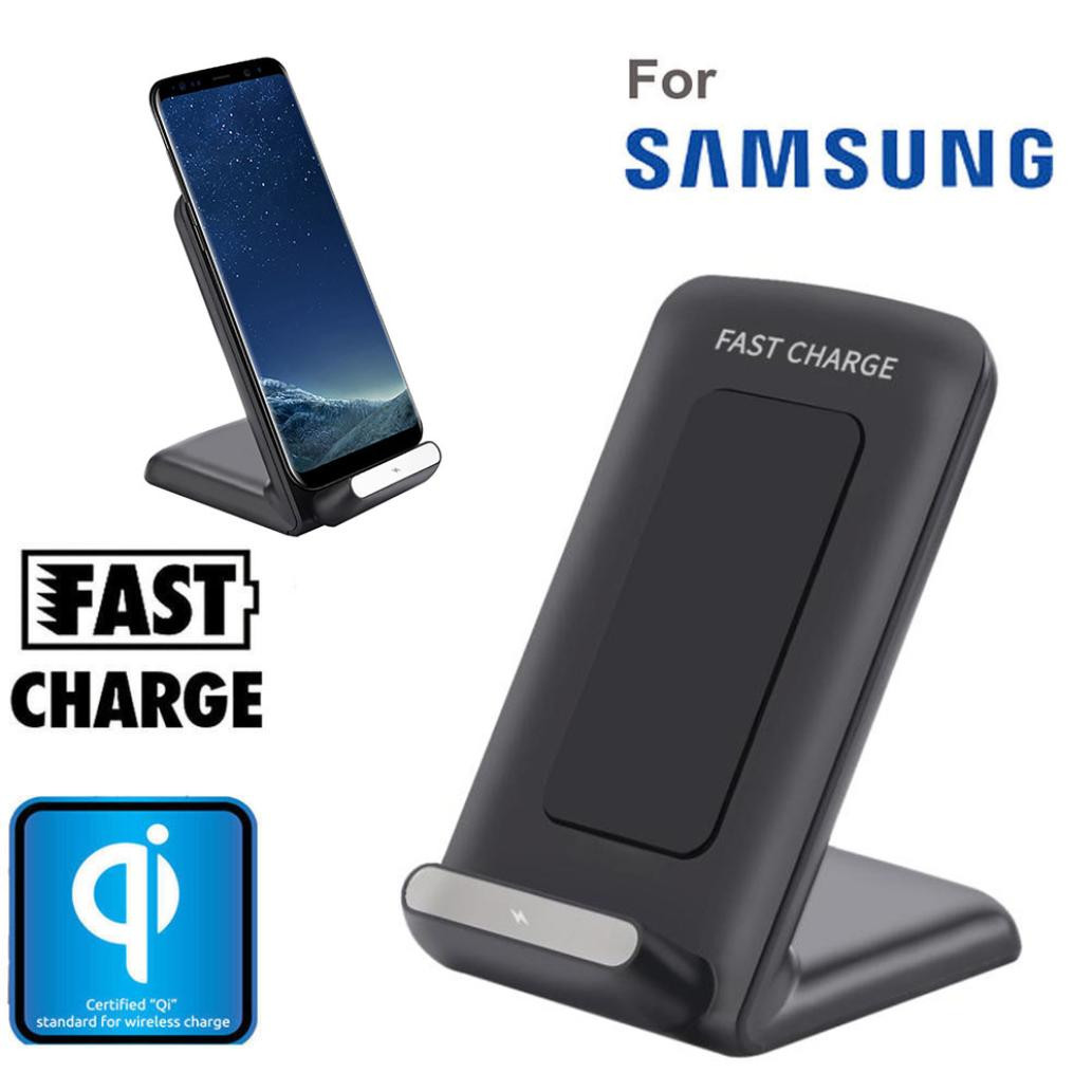 Qi Fast Wireless Charger Rapid Charging Stand for Samsung Galaxy Note
