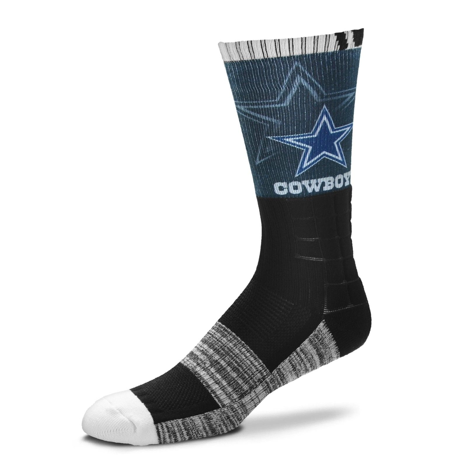 Pack Mens Dc Shoes White Quarter Crew Socks