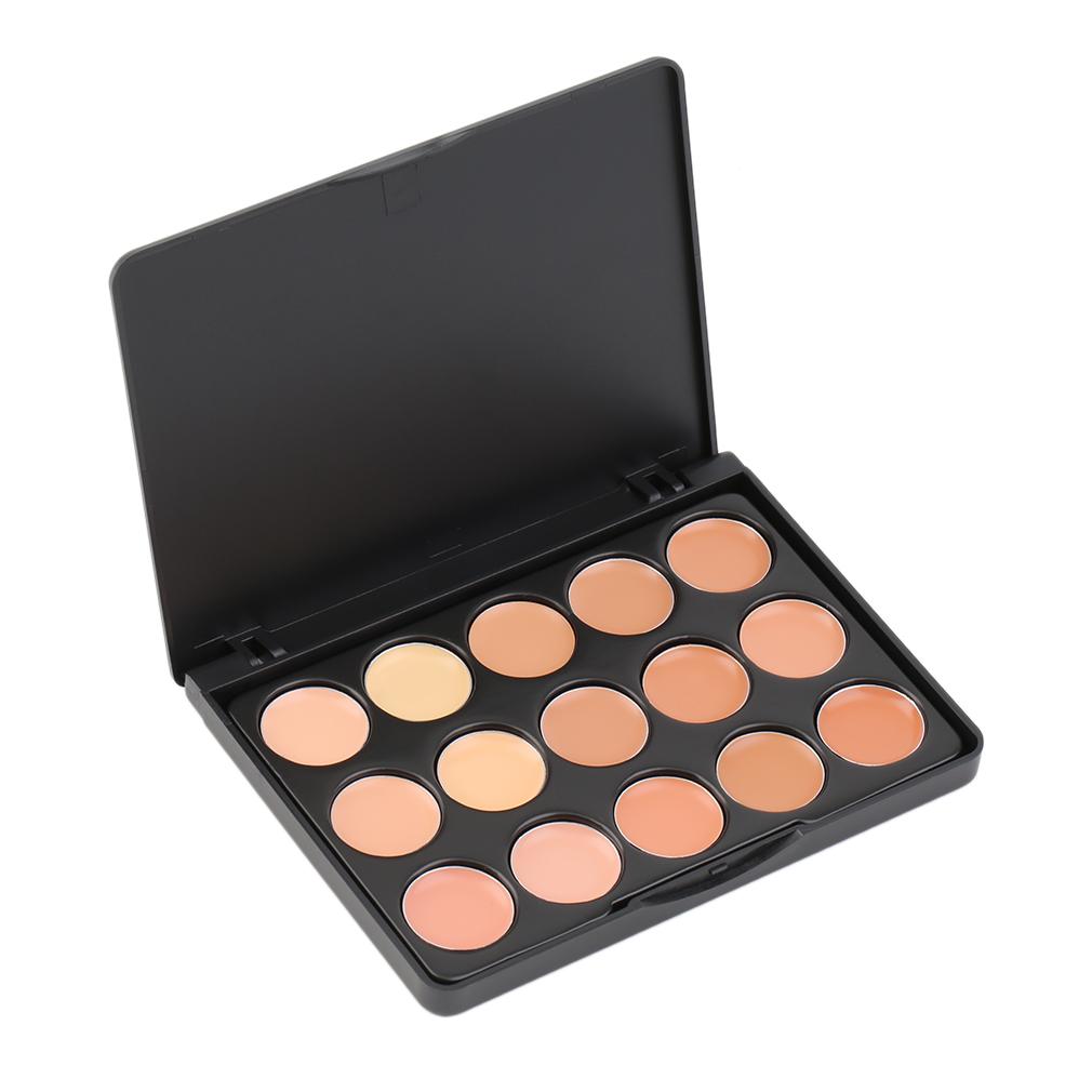 15 Color Professional Makeup Facial Concealer Palette Makeup Set Tanga