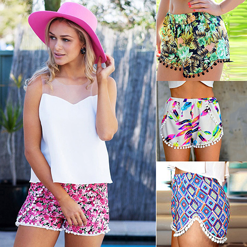 Comfy Casual Summer Shorts - Multiple Patterns 8327000