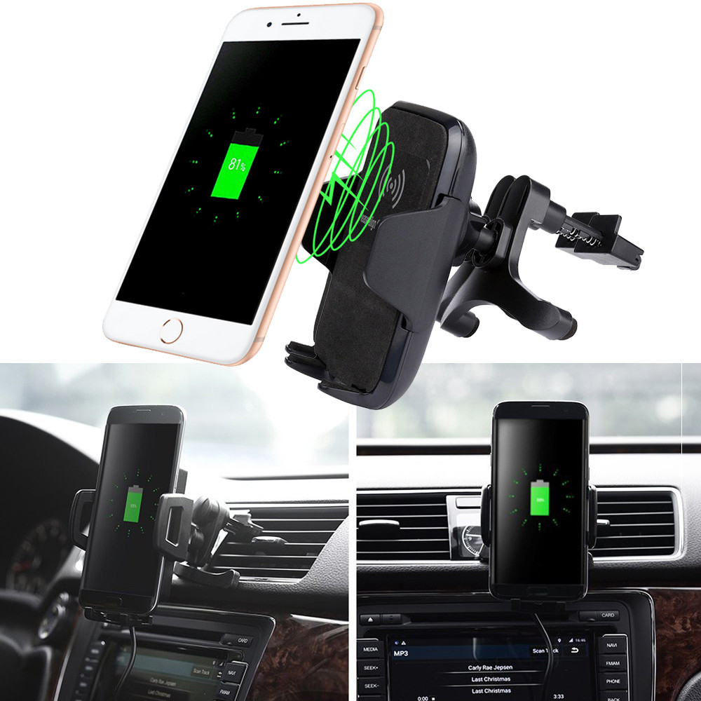 Car Wireless Charger Vehicle Dock Charging Stand Dock for Iphone 8 8Pl