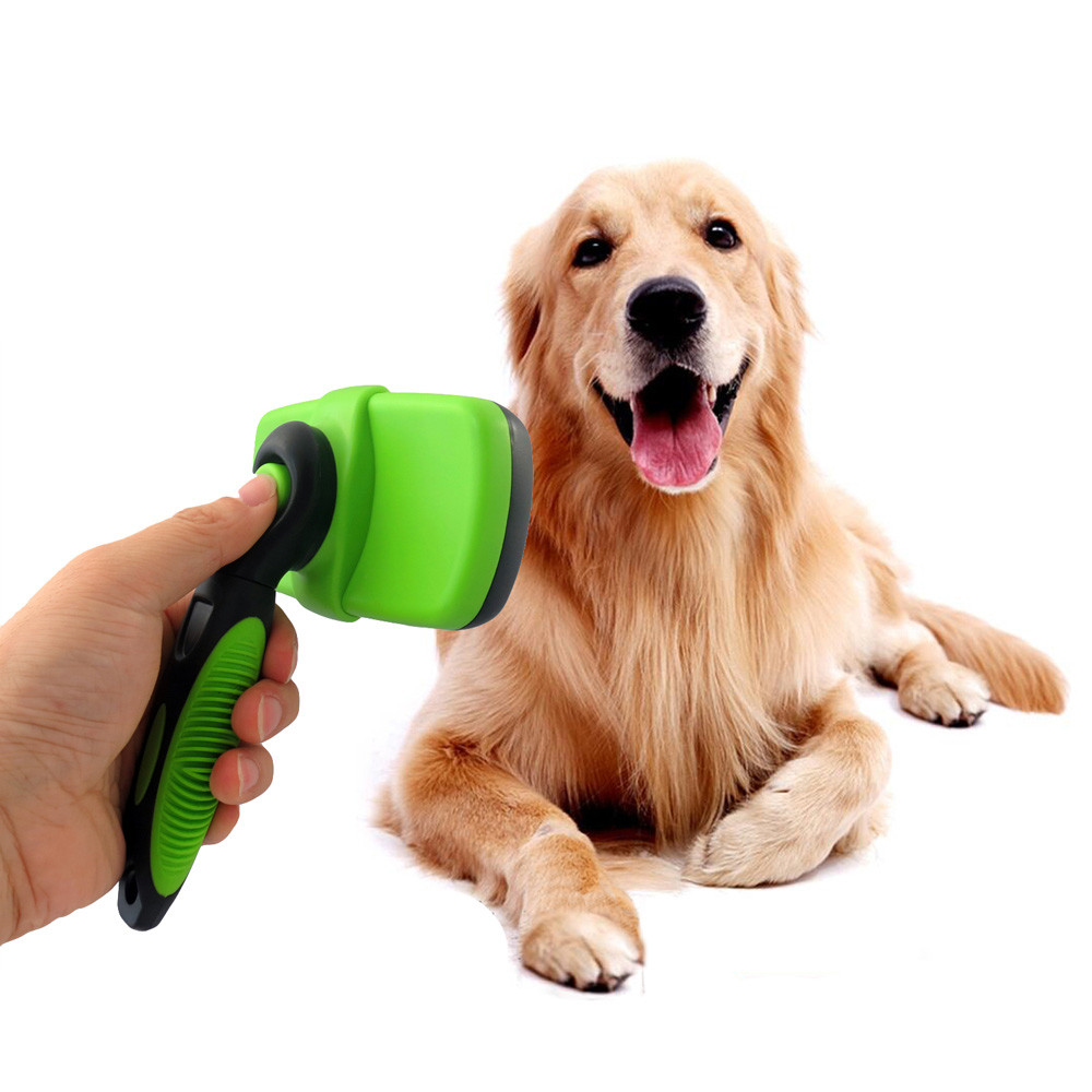 Pet Grooming Self Cleaning Hair Brush 11617960