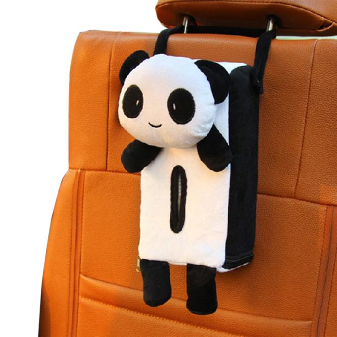 Portable Hanging Car Rectangle Animal Tissue Box Cover Holder Storage