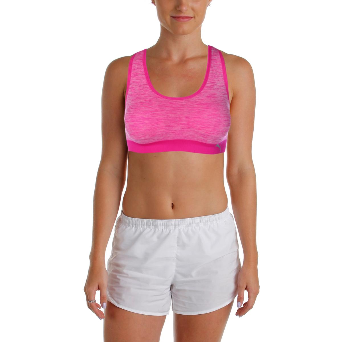 Puma Womens Free Run Seamless Lightly Padded Sports Bra 12dfd74b398f