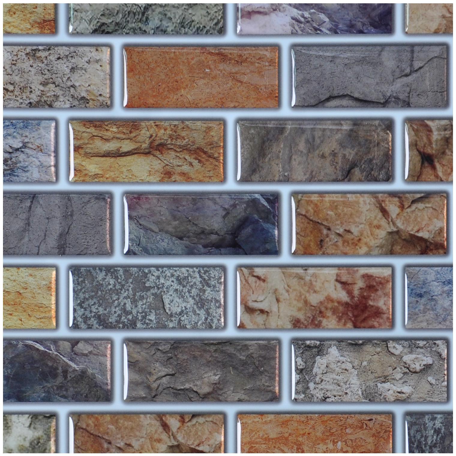 Art3d Peel N Stick Tiles Bathroom Backsplash Tiles 6 Pack 12