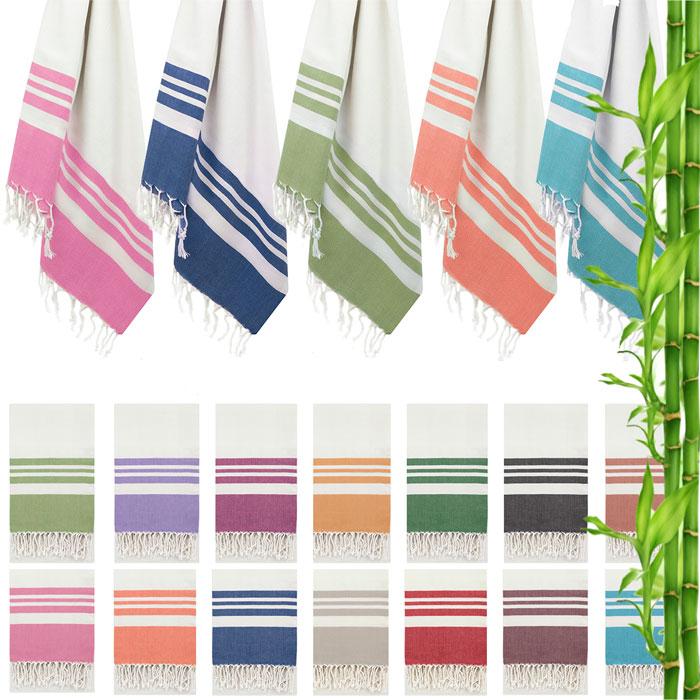 Swan Comfort Peshtemal Turkish Bamboo Towel