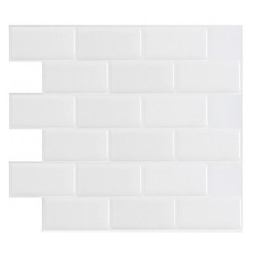Art3d peel and stick tile backsplash white brick subway 12 x 12 art3d peel and stick tile backsplash white brick subway 12 x 12 tanga dailygadgetfo Image collections