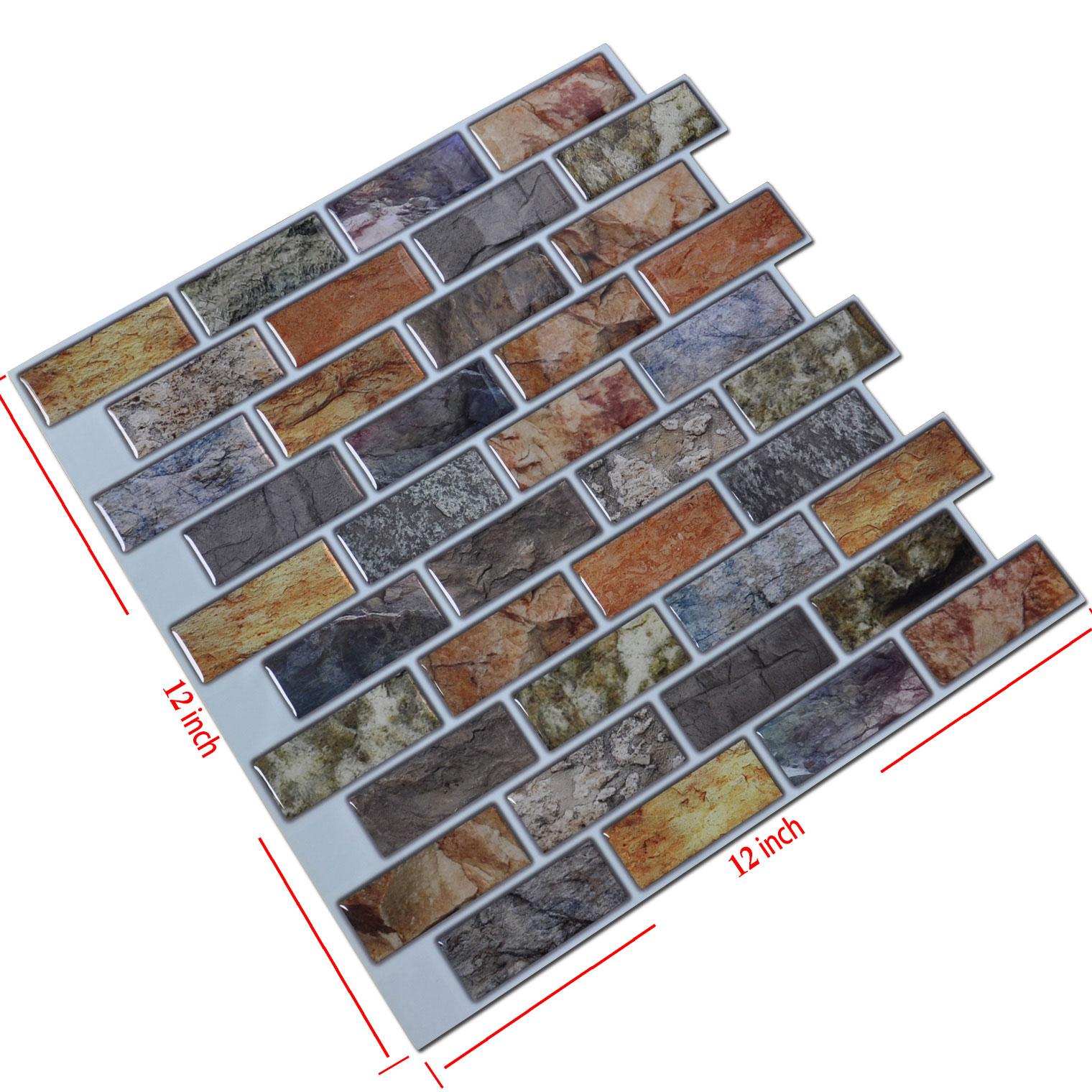 Art3d 12 Quot X 12 Quot Peel And Stick Backsplash Tiles For