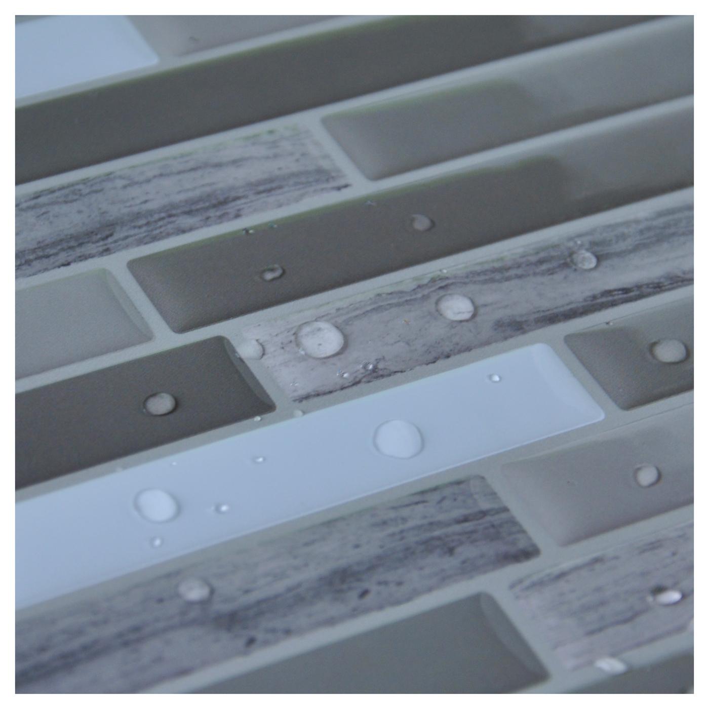 Art3d Peel & Stick Wall Tile for Backsplash, Long Stone (6 Pack ...