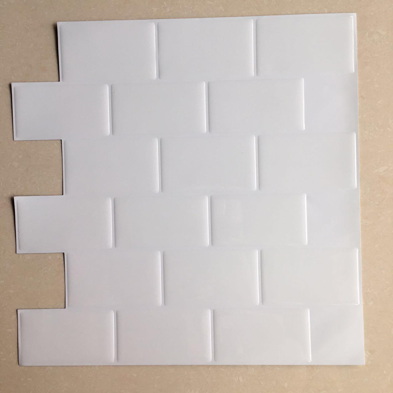 Art3d 12 Quot X 12 Quot Self Adhesive Backsplash Subway Tiles