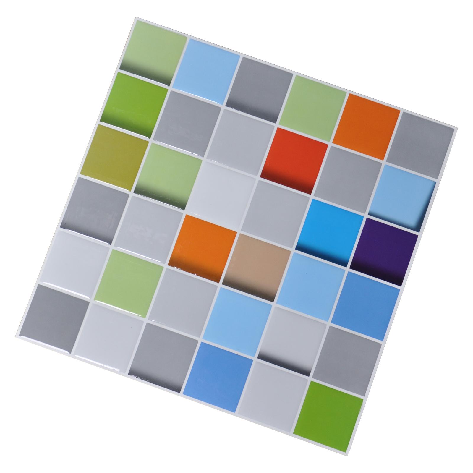 Art3d Gel Mosaic Sticker Kitchen Backsplash Peel And Stick