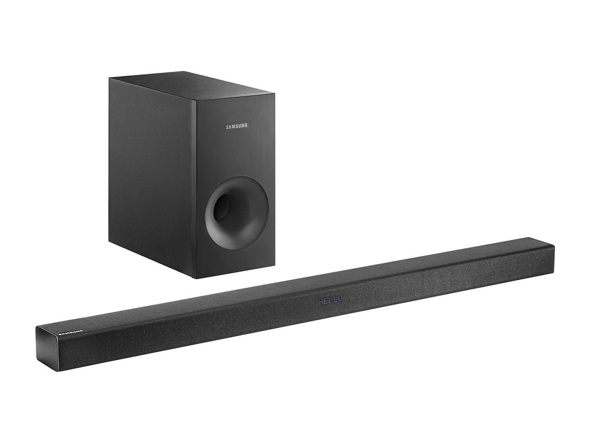 samsung hw k360 zar 2 1 channel soundbar system with wireless subwoofer tanga. Black Bedroom Furniture Sets. Home Design Ideas