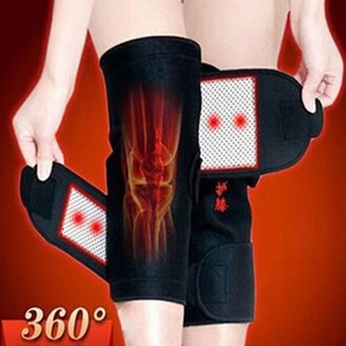1 Pair Tourmaline Self Heating Knee-pad Magnetic Therapy 8572100