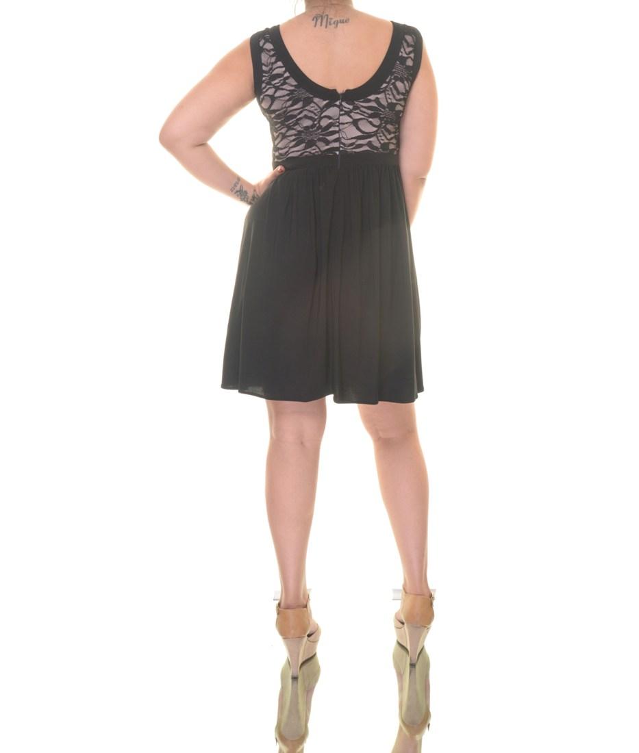 Morgan Factory Stock Photos Morgan Factory Stock Images: Morgan & Company Black/Nude Dress Sleeveless Size 9/10 NWT