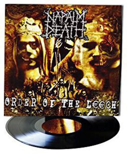 Napalm Death Order Of The Leech Vinyl Tanga