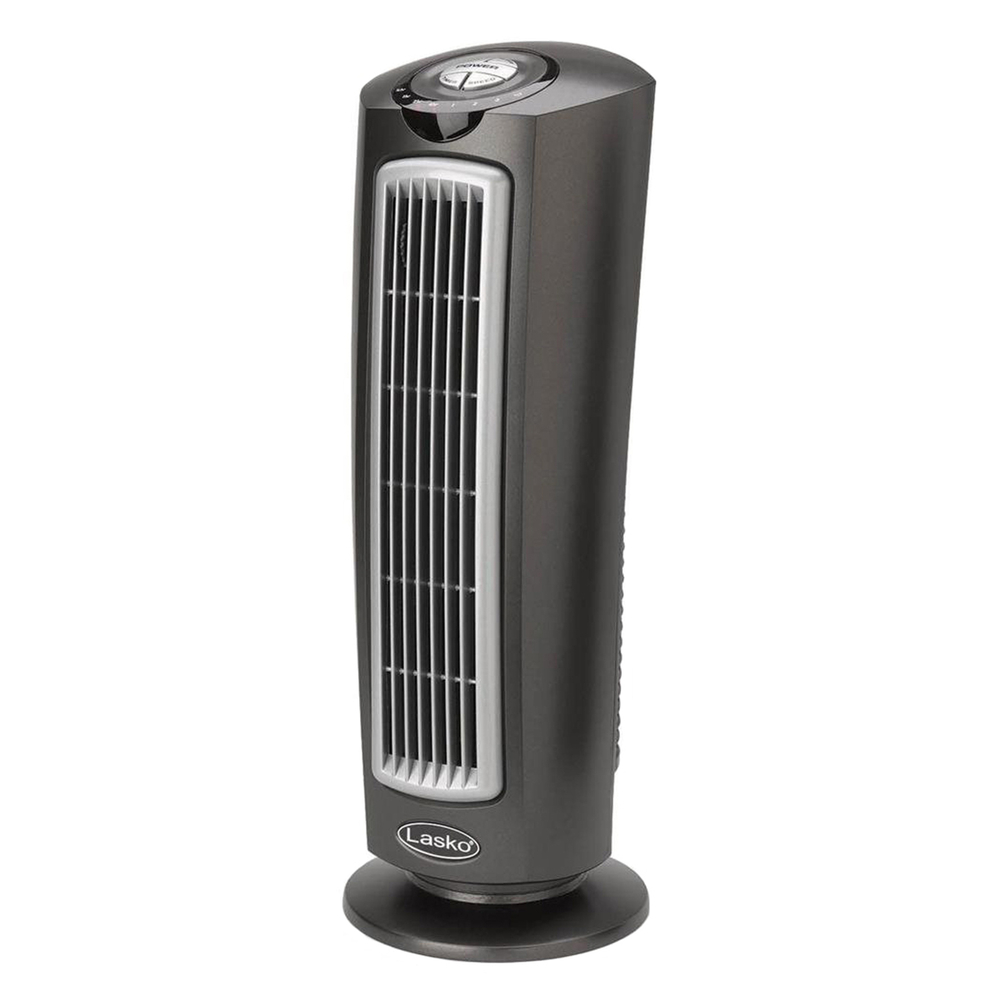 Remote Control Fans Table Top : Lasko t quot space saving oscillating tower fan with