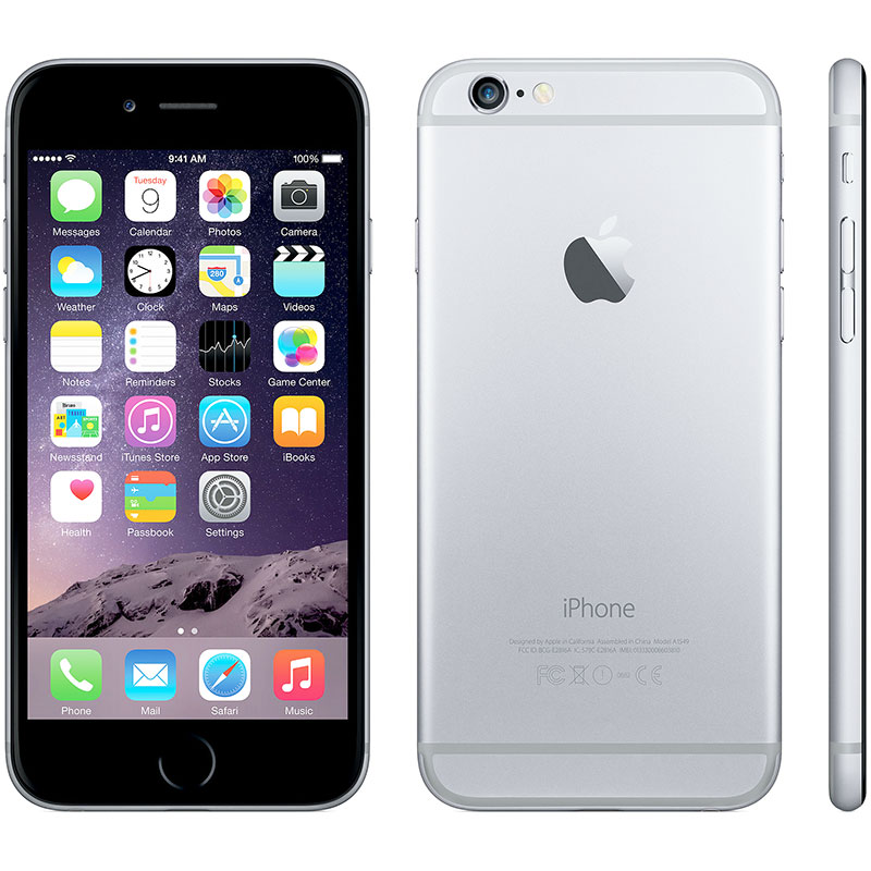 iphone 6 plus deals refurbished apple iphone 6 64gb black at amp t tanga 15028