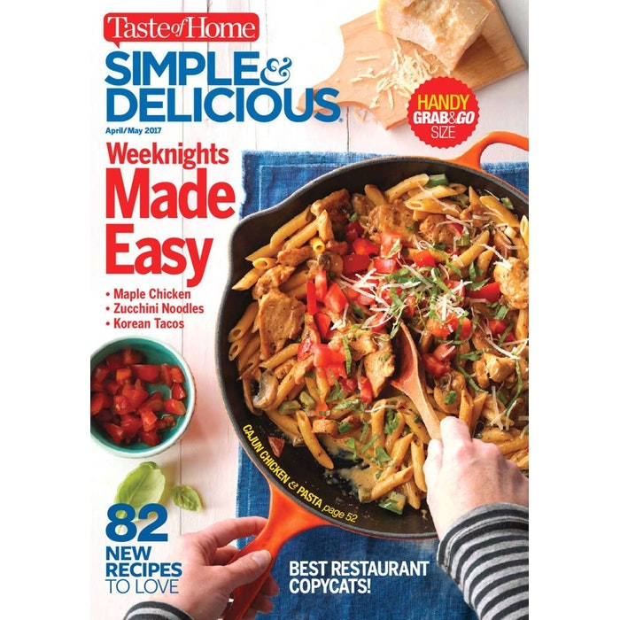 Simple  amp  Delicious Magazine Subscription