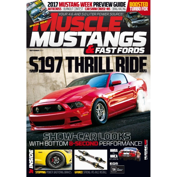 Muscle Mustangs  amp  Fast Fords Magazine Subscription