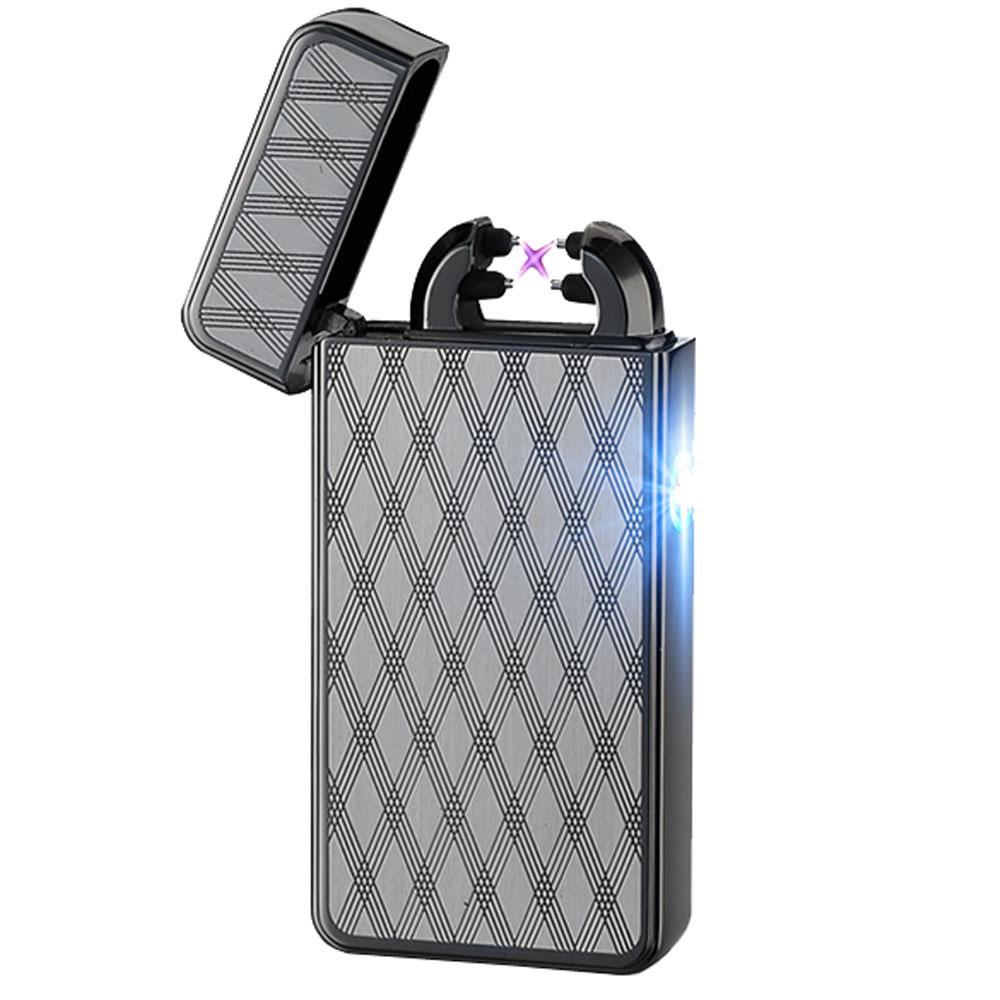 Black Night Rechargeable Windproof Lighter
