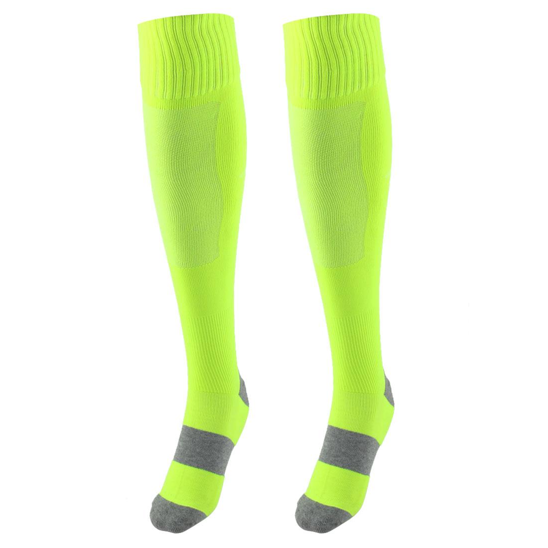 Green Rugby Socks: Unisex Non Slip Stretch Rugby Soccer Football Socks
