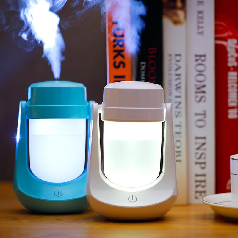 Mini Night Light LED Lamp Humidifier Air Diffuser Purifier Atomizer 95b3b2a867e6
